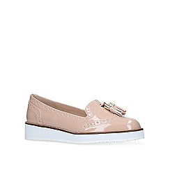 Carvela - Nude 'Mitch' flat loafers