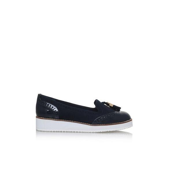 slip flat Carvela on loafers Blue 'Mitch' tEaHa
