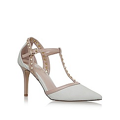 Carvela - Cream 'Kankan' high heel court shoes