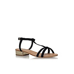 Carvela - Black 'Bravo' low heel sandals