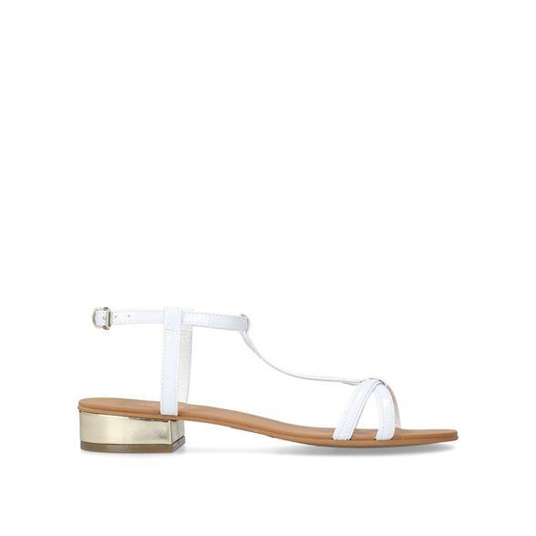 'Bravo' Carvela flat flat White White Carvela 'Bravo' sandals sandals AUZgYY