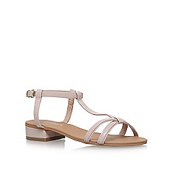 Carvela - Natural 'Bravo' low heel sandals