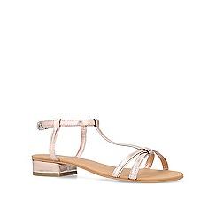 Carvela - Bronze 'Bravo' flat sandals