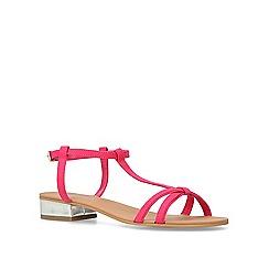 Carvela - Pink 'Bravo' flat sandals