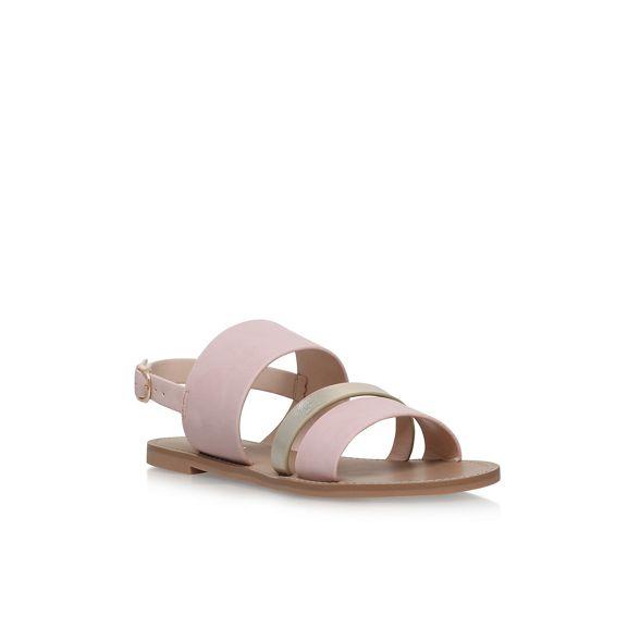 2' sandals flat 'Binky Carvela Natural AwXxqH0qE