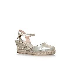 Carvela - Gold 'Sabrina 2' high heel sandals
