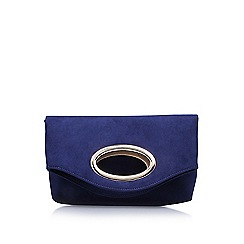 Miss KG - Blue 'Tia' clutch bag