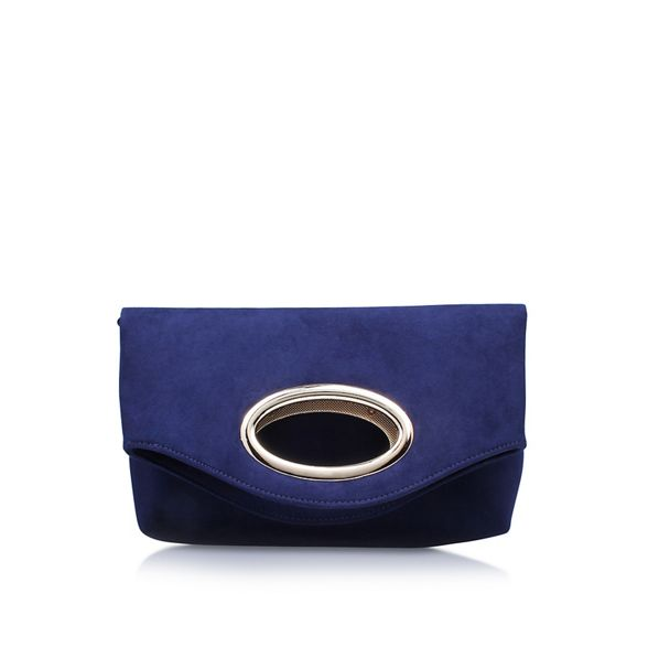 clutch 'Tia' bag Miss KG Blue twxUAnRF8A