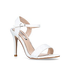 Miss KG - White 'Imogen 2' high heel sandals