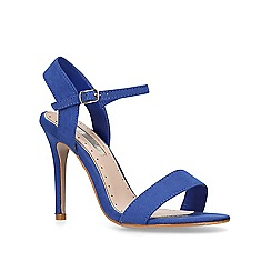 Miss KG - Blue 'Imogen 2' stiletto heel sandals