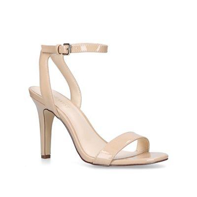 Nine West - Nude 'Aniston' high heel sandals