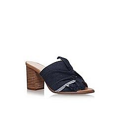 Nine West - Blue 'Barbara' high heel sandals