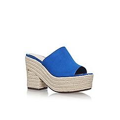 Nine West - Blue 'Skyrocket' high heel sandals