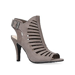 Nine West - Grey 'Suite' high heel sandals