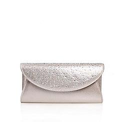 Carvela - Silver 'Delilah Jewel 2' clutch bag