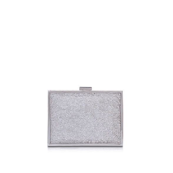 2' Silver clutch 'Destiny bag Carvela Ep7R8BqwB