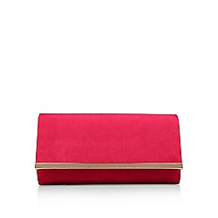 Carvela - Pink 'Dylan 2' clutch bag