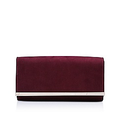 Carvela - Wine 'Dylan 2' clutch bag