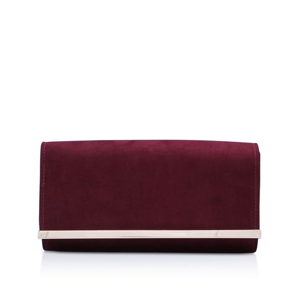 Carvela bag 2' Wine 'Dylan clutch rxRw0UrqF