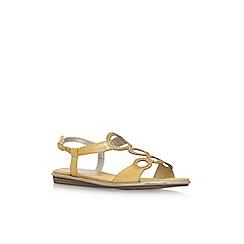 Anne Klein - Yellow 'Gaia' flat sandals