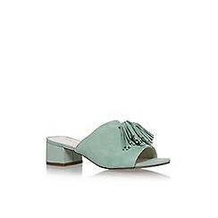 Anne Klein - Green 'Salome' low heel sandals