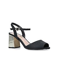 Miss KG - Black 'Cara' high heel sandals