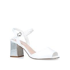 Miss KG - White 'Cara' high heel sandals