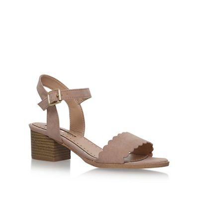 Miss KG - Natural 'Rosie' high heel sandals