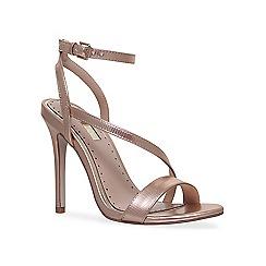Miss KG - Metallic 'Scarlette' high heel sandals