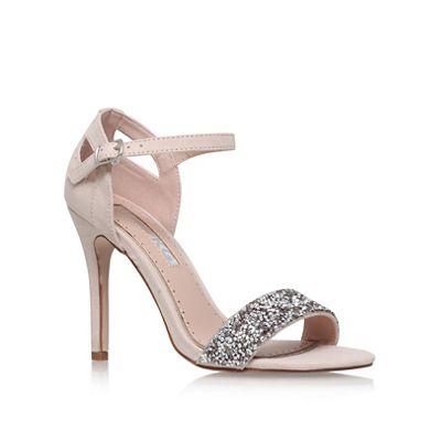 Miss KG - Natural 'Isla' high heel sandals