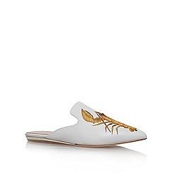 KG Kurt Geiger - Brown 'Otter' flat sandals
