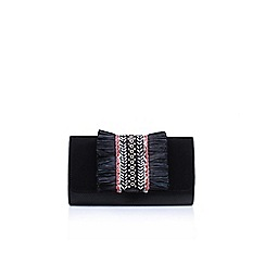 Miss KG - Black 'Hula' clutch bag