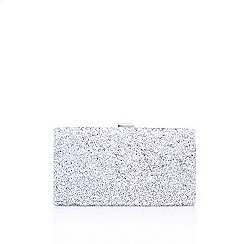 Miss KG - Natural 'Hotty' clutch bag