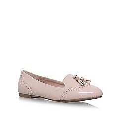 Miss KG - Nude 'Karina' flat slip on loafers