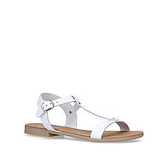 Nine West - White 'Felix' flat sandals