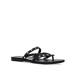 KG Kurt Geiger - Black 'Modena' flat sandals