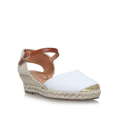 Miss KG - White 'Lea' high heel sandals