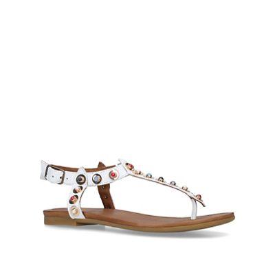 Carvela - White White - 'Kankan' flat sandals 3f7b6a