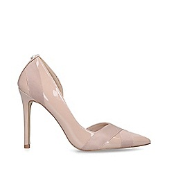 Carvela - Pink 'Lark' Patent Stiletto Heel Court Shoes