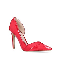 Carvela - Red 'Lark' stiletto heeled court shoes