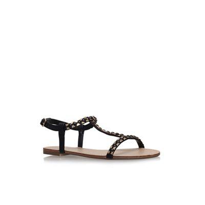 Carvela - Black 'Blaze' flat sandals