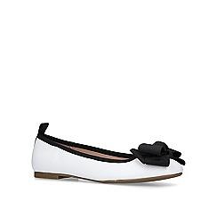 Miss KG - White 'Kandie' ballerina shoes