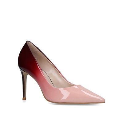 Carvela - Pink 'Alison' high heel court shoes