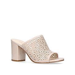 Nine West - Pink 'Glitera' high heel sandals