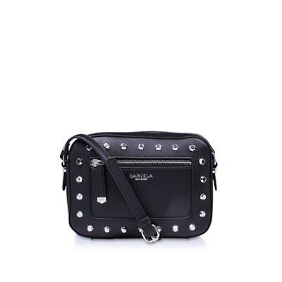 Carvela   Black 'mia Stud X Body' Cross Body Bag by Carvela