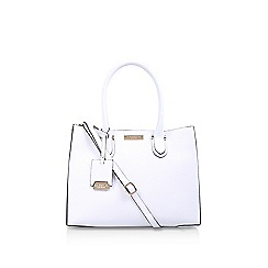 Carvela - White 'robyn structured tote' bag