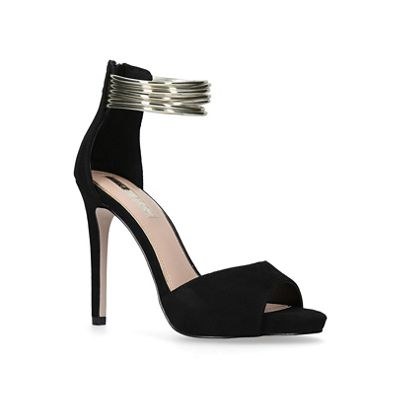 Miss KG - Black 'Fiona' high heel sandals