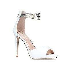 Miss KG - White 'Fiona' high heel sandals