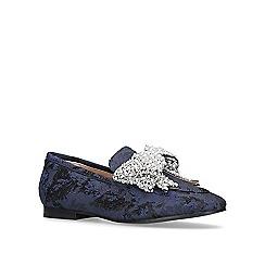 KG Kurt Geiger - Blue 'Khloe' flat loafers