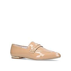 KG Kurt Geiger - Camel 'Kilma' flat loafers